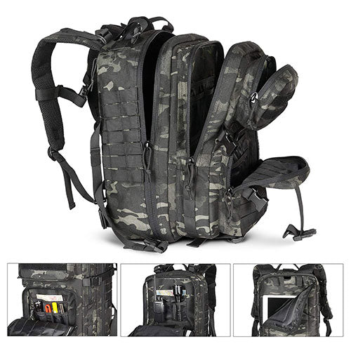 multiple-compartments-and-pockets-of-Tactical-Backpack
