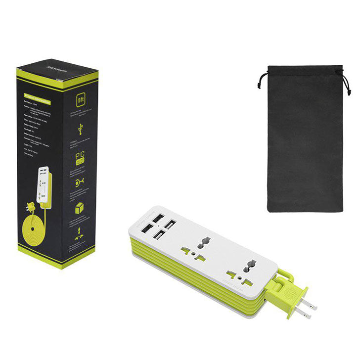package-contents-of-Portable-Power-Strip-And-Surge-Protector