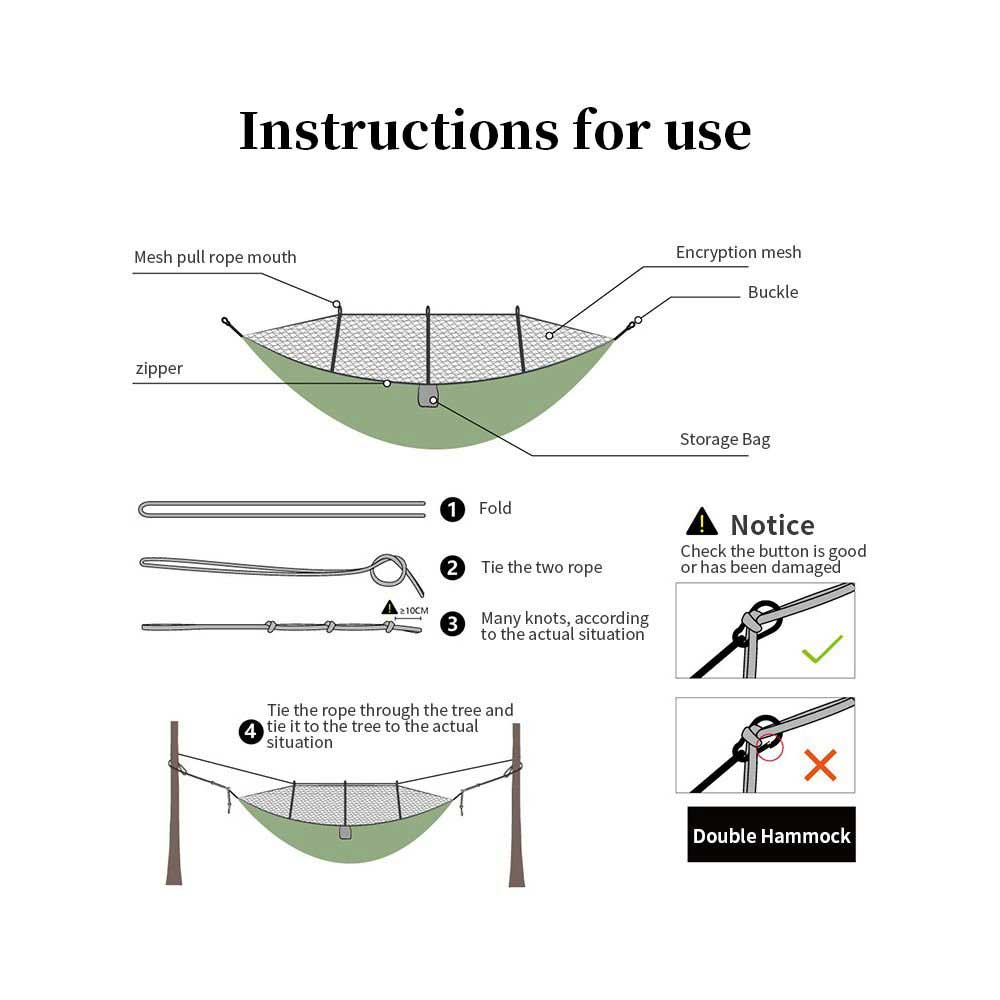 portable-camping-hammock-with-mosquito-net-outdoor instructions