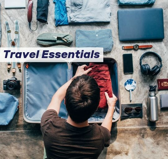 travel essentials collection nifty drifter
