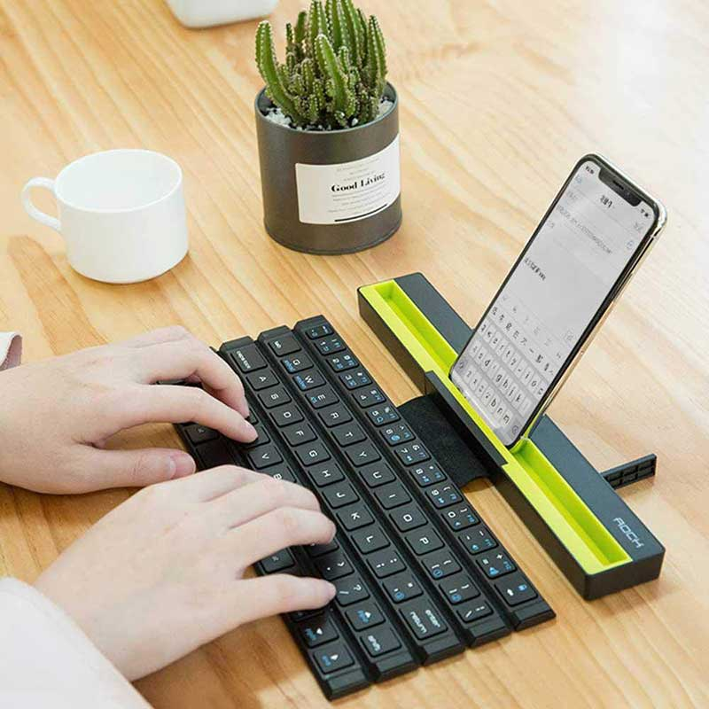 Universal Bluetooth Folding Keyboard For Mobile Devices