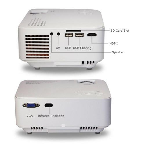 1080P HD Home Theater Projector-Projectors-Nifty Drifter
