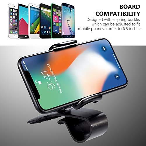 360-Degree Rotating Dashboard Clip Phone Mount-Phone Mount-Nifty Drifter