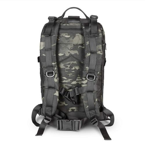back and straps of Tactical Backpack