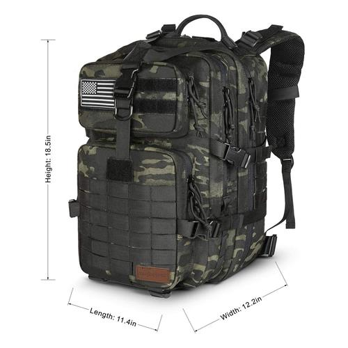 Tactical Backpack dimensions