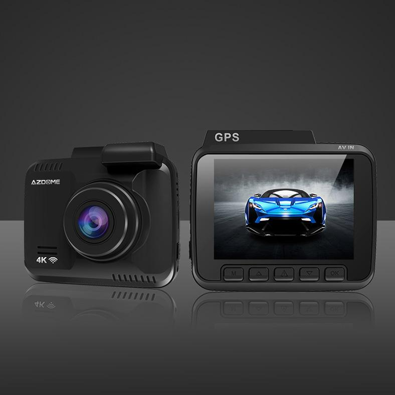 4K Dash Cam with GPS