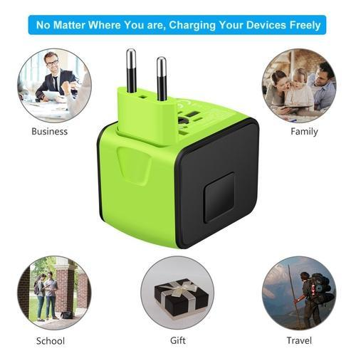 5 Port International Power Adapter-Charge-Nifty Drifter