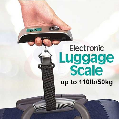 Backlight LCD Luggage Scale