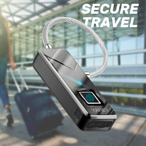 Fingerprint Luggage Lock-luggage lock-nifty drifter