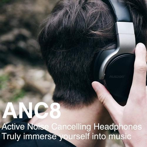 Active Noise Cancelling Bluetooth Headphones-Headphones-Nifty Drifter
