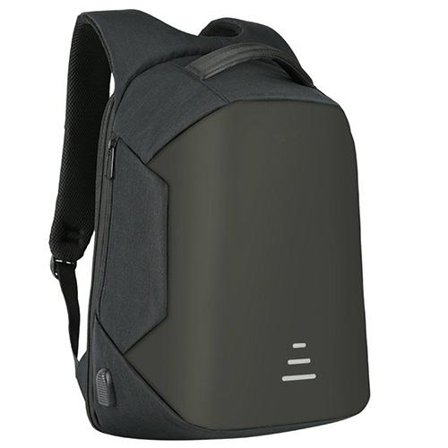 Anti Theft Laptop Backpack-Backpack-Nifty Drifter-Black
