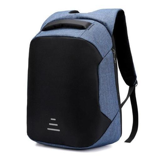 Anti Theft Laptop Backpack-Backpack-Nifty Drifter-Blue