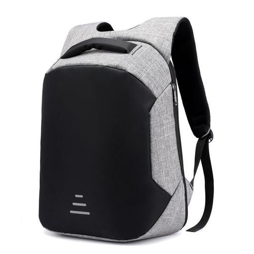 Anti Theft Laptop Backpack-Backpack-Nifty Drifter-Gray