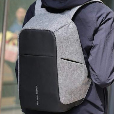 Anti-Theft USB Charging Backpack-Backpack-Nifty Drifter