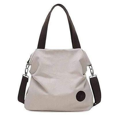 Canvas Crossbody Messenger Bag-women's bags-Nifty Drifter