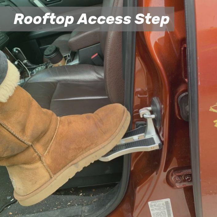 Car Rooftop Access Ladder Step-Car Doorstep-Nifty Drifter