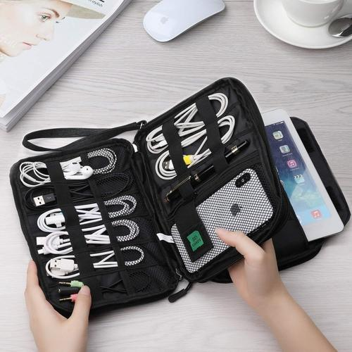 Double Layer Electronic Organizer-Organizer Bag-Nifty Drifter-