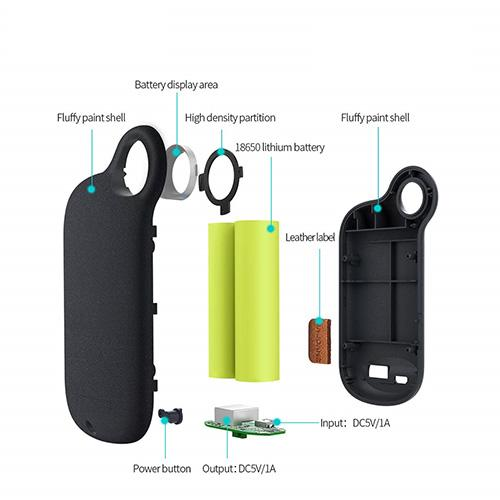 Emergency Mini Power Bank - 5000mAh-Power Bank-Nifty Drifter