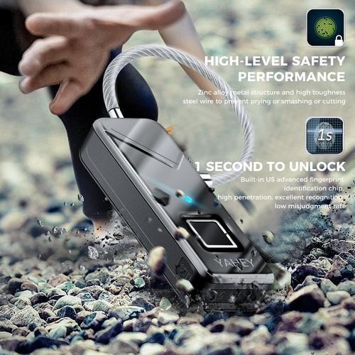 Fingerprint Luggage Lock-Padlock-Nifty Drifter