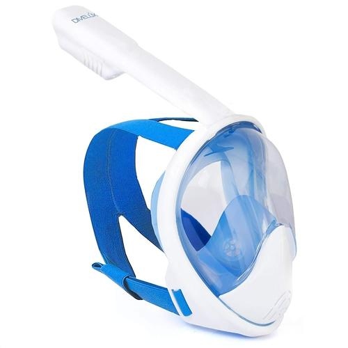 Full Face Snorkel Mask with GoPro Campatibility-Outdoors-Nifty Drifter