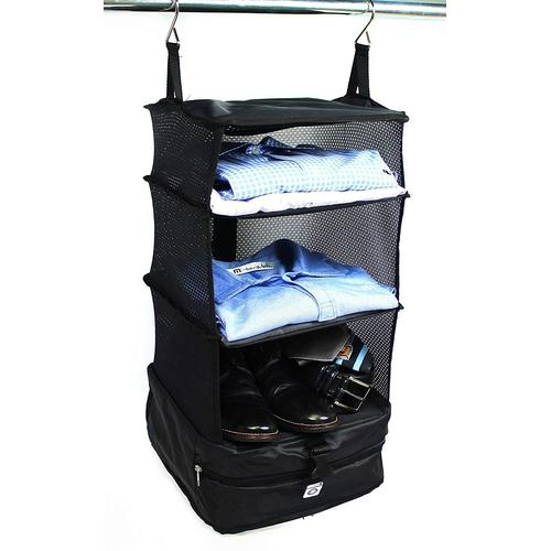 Hanging Luggage Shelves-Luggage Organizer-Nifty Drifter