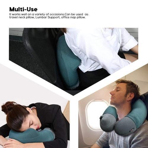 Inflatable Neck Pillow-Travel Pillow-Nifty Drifter-