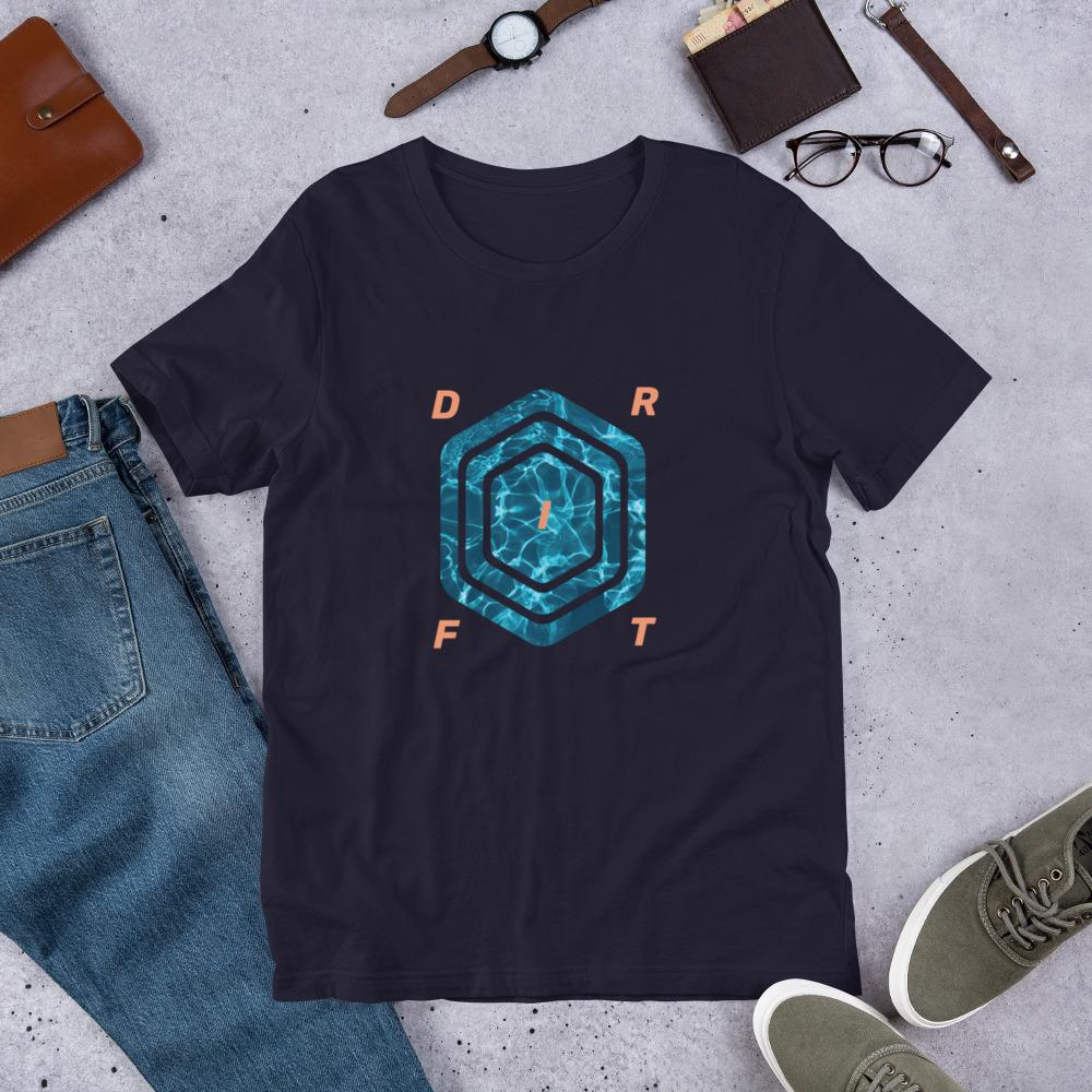 Ripple Drift - Unisex-T-shirt-Nifty Drifter-