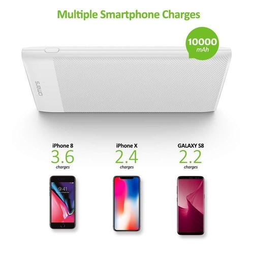 Slim Power Bank Battery Pack 10000mAh-Power Bank-Nifty Drifter