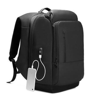 The Nomad Business Backpack with USB Charging Port-Backpack-Nifty Drifter