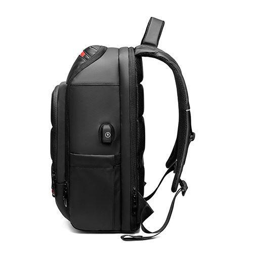 side view of Travel Laptop Backpack For Men