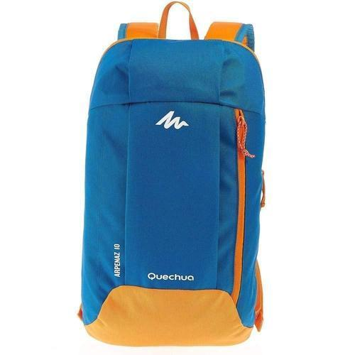 Ultralight Water Resistant Nylon Backpack - 10L-Daypack-Nifty Drifter-Blue & Orange
