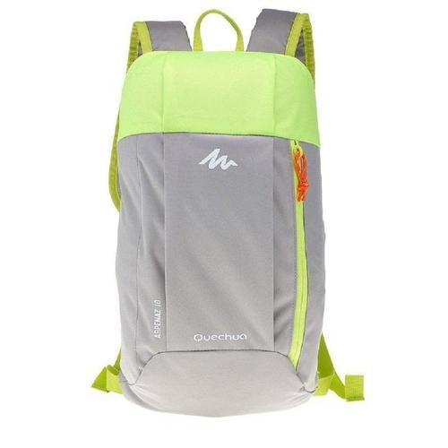 Ultralight Water Resistant Nylon Backpack - 10L-Daypack-Nifty Drifter-Gray & Green