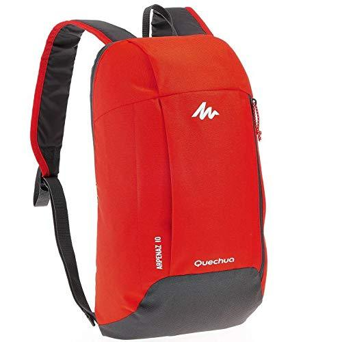 Ultralight Water Resistant Nylon Backpack - 10L-Daypack-Nifty Drifter-Red & Grey