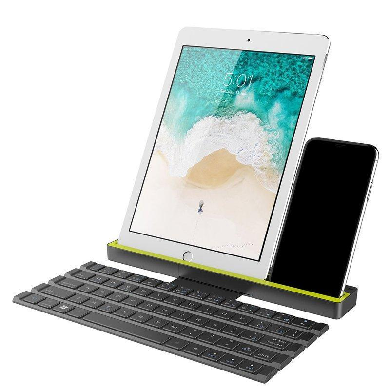 Universal Bluetooth Folding Keyboard For Tablets-Keyboards-Nifty Drifter
