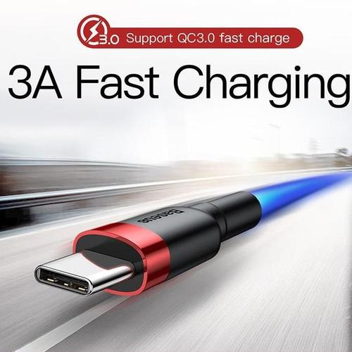 Wear-Resistant USB-C Cable - QuickCharge 3.0-USB-C Cable-Nifty Drifter-