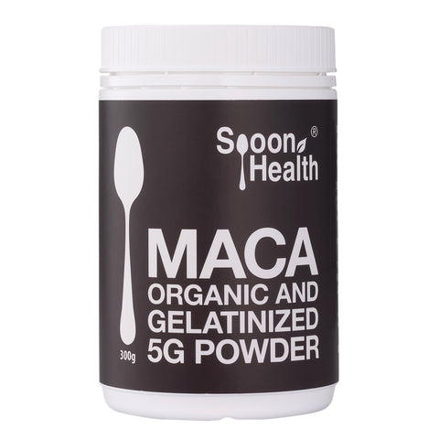 spoon health organic maca root powder gelatinised 300g malaysia
