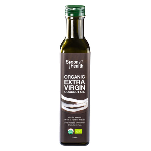 spoon health organic extra virgin coconut oil 250ml