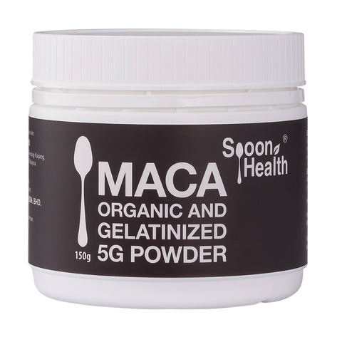 spoon health organic maca root powder gelatinised 150g malaysia