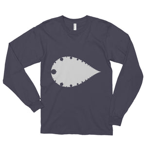 Inverse Mandelbrot - Long sleeve T-shirt