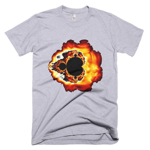 Mandelbrot Fire - Men's T-Shirt