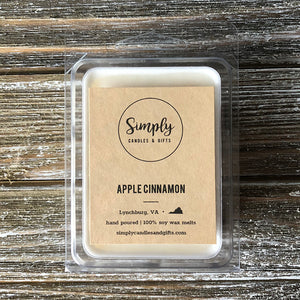 Apple Cinnamon Soy Wax Melt