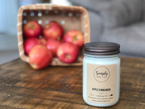 Apple Cinnamon Soy Candle