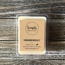 Cinnamon Whiskey Soy Wax Melt Single
