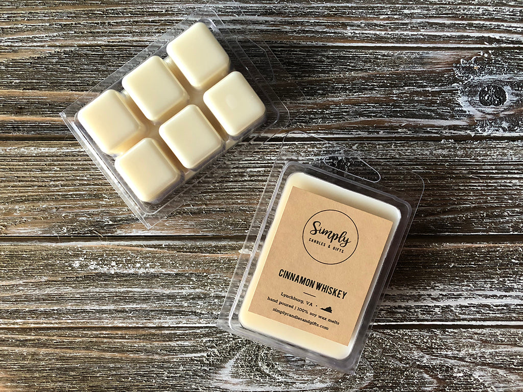 Cinnamon Whiskey Soy Wax Melts
