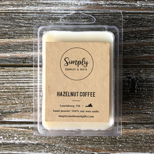 Hazelnut Coffee Soy Wax Melt