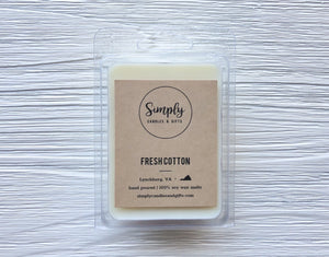 Fresh Cotton Soy Wax Melt