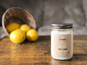 Sweet Lemon Soy Candle