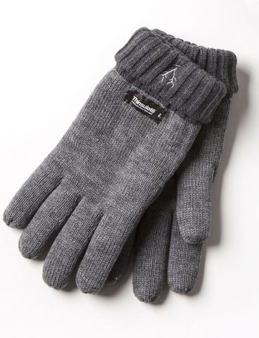 Men's Thinsulate Gloves Grey