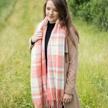 Coral Candy Scarf