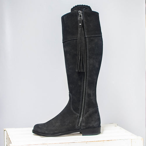 Herce Valverde Black Leather Boots